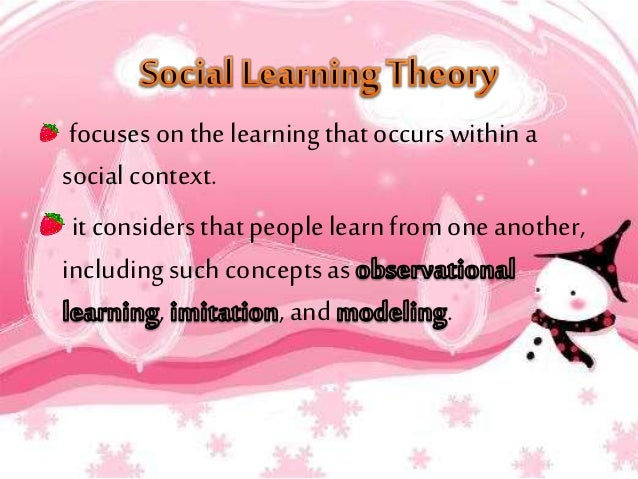 albert bandura social learning theory pdf