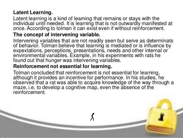 Neo behaviorism tolman and bandura essay