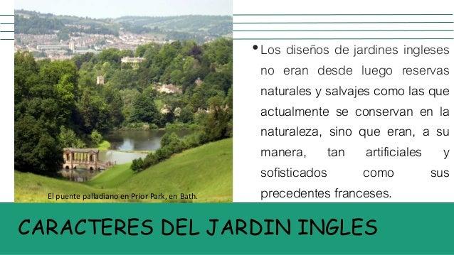 Jardines del neoclacisismo ingles for Jardin en ingles