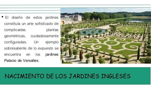 Jardines del neoclacisismo ingles for Jardines barrocos