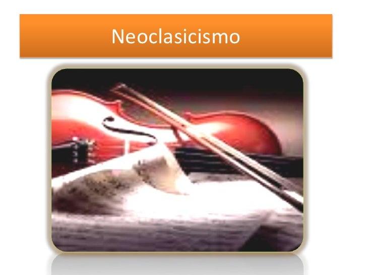 Neoclasicismo<br />