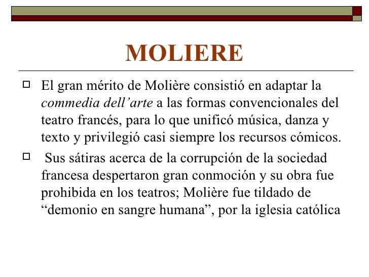LEANDRO FERNÁNDEZ DE      MORATÍN            Es el máximo exponente del teatro             neoclásico.              Es e...