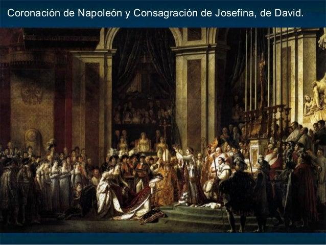 Detalle de la Coronación de Napoleón y la Consagración de Josefina.