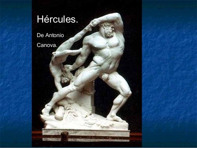Hércules. De Antonio Canova.