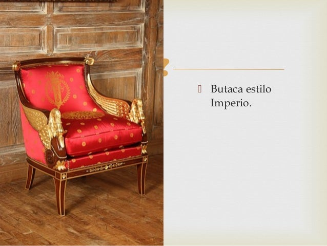 Arquitectura neocl sica for Muebles estilo imperio