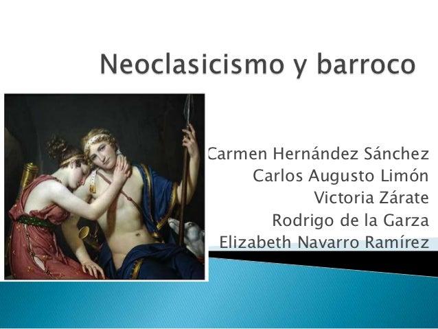 Carmen Hernández Sánchez      Carlos Augusto Limón             Victoria Zárate        Rodrigo de la Garza Elizabeth Navarr...