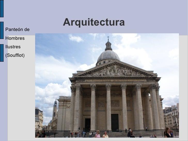 Neoclasicismo y romanticismo Romanticismo arquitectura