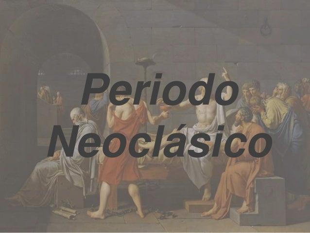 Periodo Neoclásico