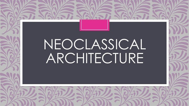 compare the neoclassical era to the Beaux-arts / neoclassical and landscape architectural design in the late 19th and early 20th century during the american country place era.