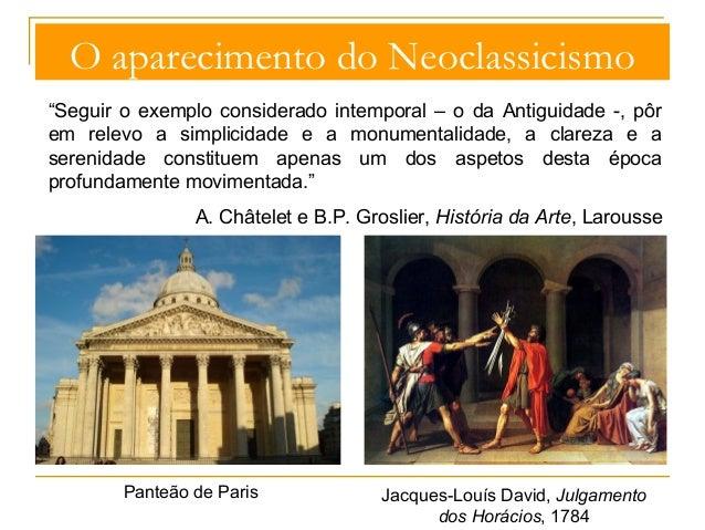Neoclassicismo Slide 3