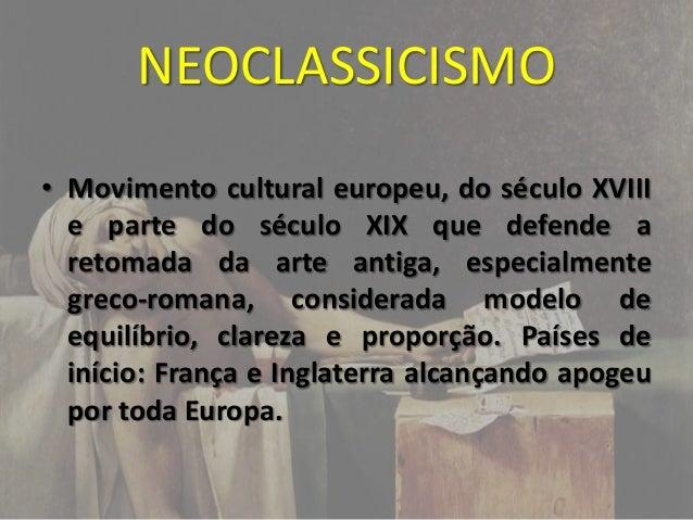 Neoclassicismo Slide 2
