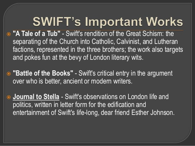 swift essays on battle of the books Jonathan swift biography of penning the battle of the books , possibly including full books or essays about jonathan swift written by.