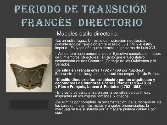 Mueble directorio y consulado franc s for Muebles estilo frances