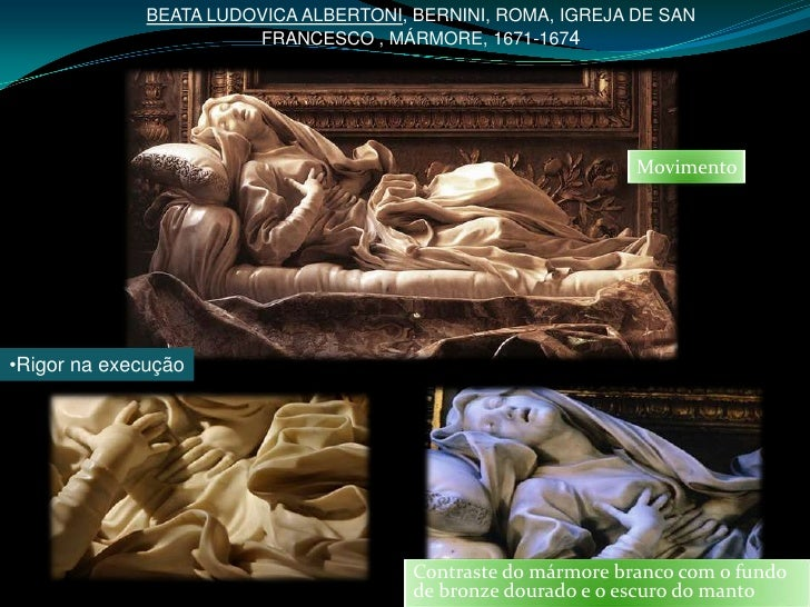 BEATA LUDOVICA ALBERTONI, BERNINI, ROMA, IGREJA DE SAN                        FRANCESCO , MÁRMORE, 1671-1674              ...