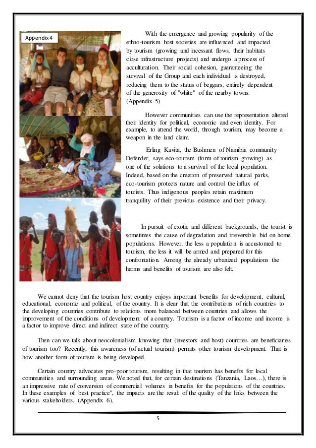 ethno tourism definition