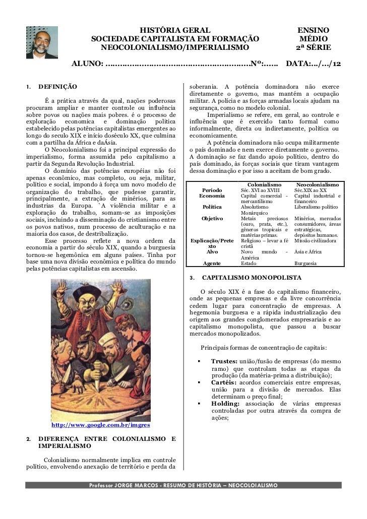 HISTÓRIA GERAL                                                             ENSINO                        SOCIEDADE CAPITAL...
