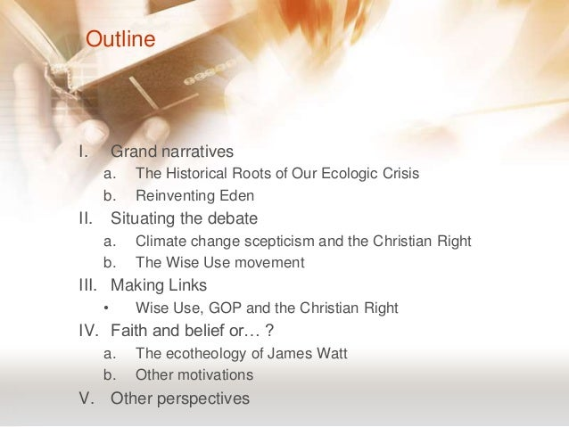 "the present environmental ecological crisis theology religion essay Abbott, kathy ""praise as protector of the natural world"" cross currents 63, no 4 (december 1, 2013): 401–4 abraham, curtis ""do unto the planet"" new."