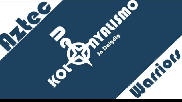 KATIBAYAN NG NEOKOLONYALISMO • Ang kasalukuyang karanasan ng mga bansa sa daigdig na kabilang sa hindi-mauunlad na bansa a...