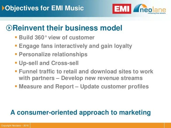 Case study analysis EMI - Course Hero