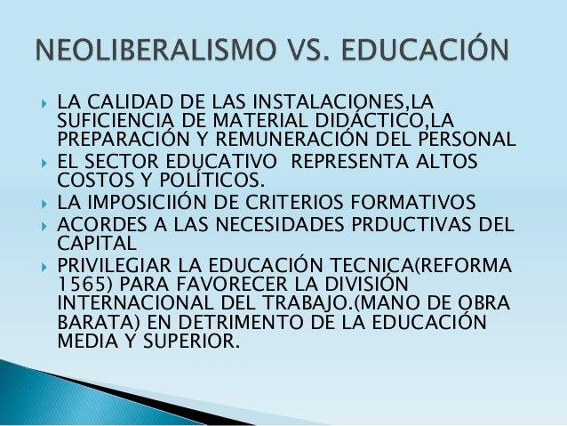  LA CALIDAD DE LAS INSTALACIONES,LA SUFICIENCIA DE MATERIAL DIDÁCTICO,LA PREPARACIÓN Y REMUNERACIÓN DEL PERSONAL  EL SEC...