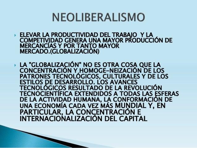  ELEVAR LA PRODUCTIVIDAD DEL TRABAJO Y LA COMPETIVIDAD GENERA UNA MAYOR PRODUCCIÓN DE MERCANCÍAS Y POR TANTO MAYOR MERCAD...