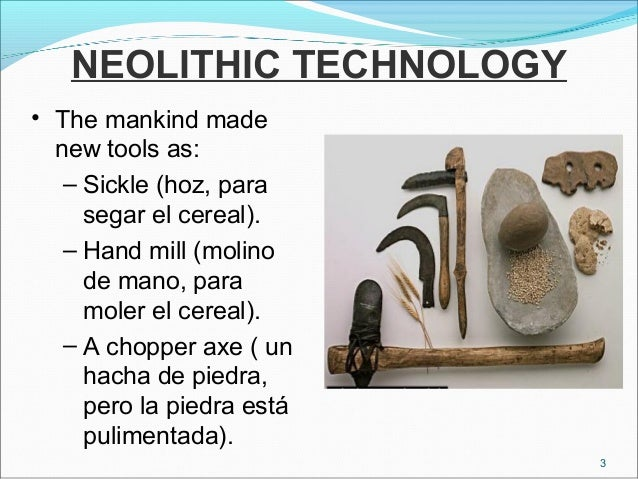 neolithic age technology