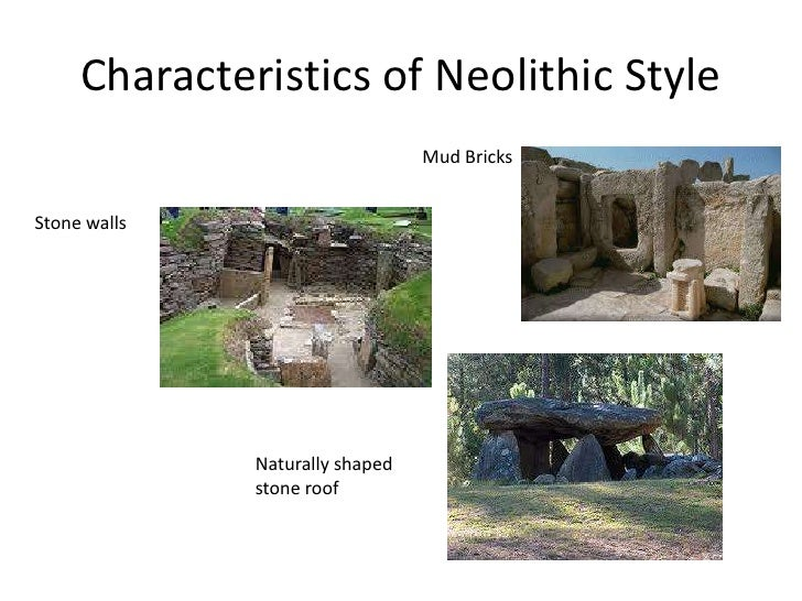 Br 3 Characteristics Of Neolithic