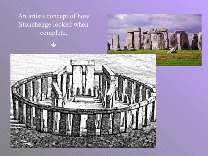 An Artists Concept Of How Stonehenge Looked When Complete