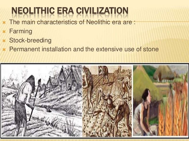 what happened in the neolithic revolution