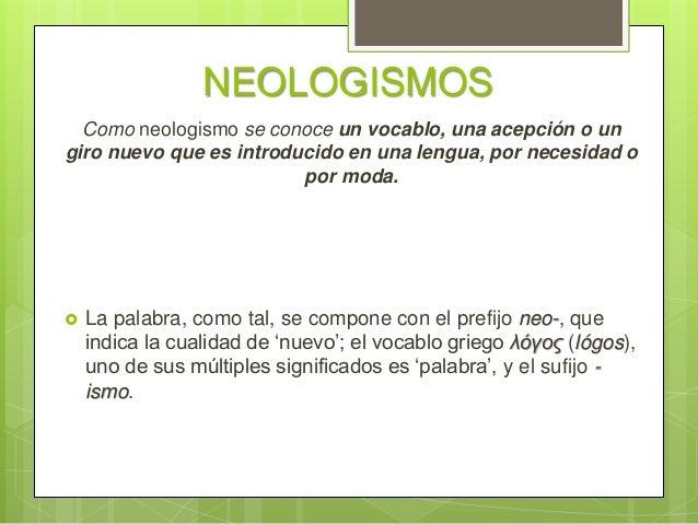 Resultado de imagen de neologismos