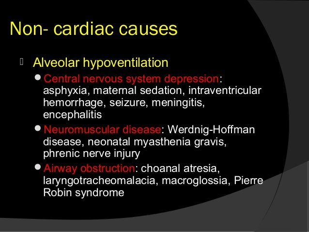 central cogenital hypoventilation syndrome