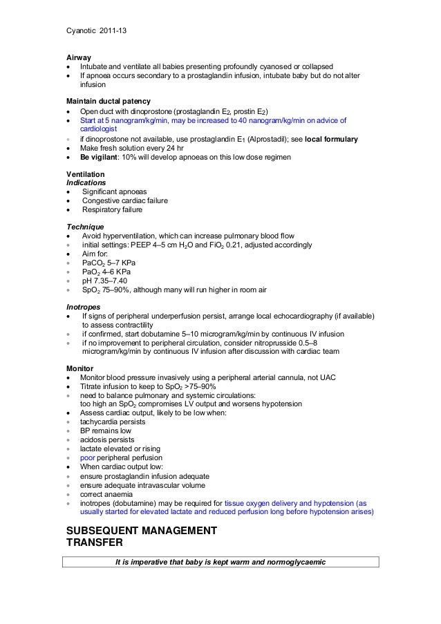 Neonatal guidelines NHS 2011 2013 Slide 3
