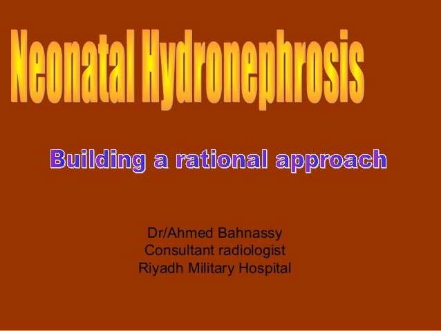 Dr/Ahmed Bahnassy Consultant radiologistRiyadh Military Hospital