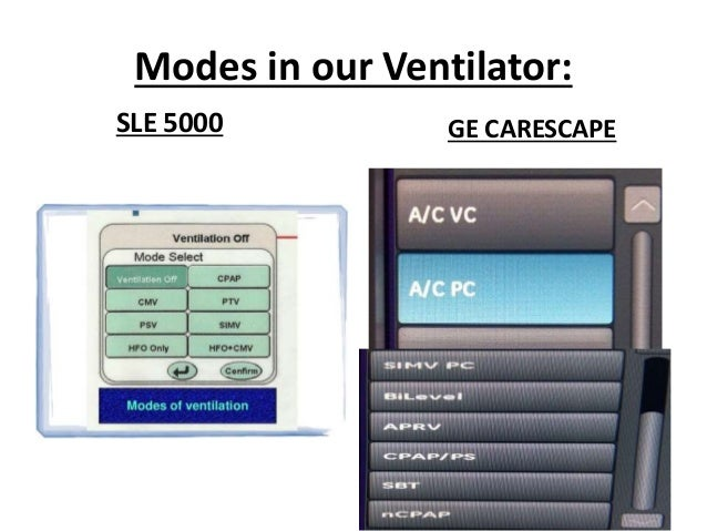 neonatal mechanical ventilation