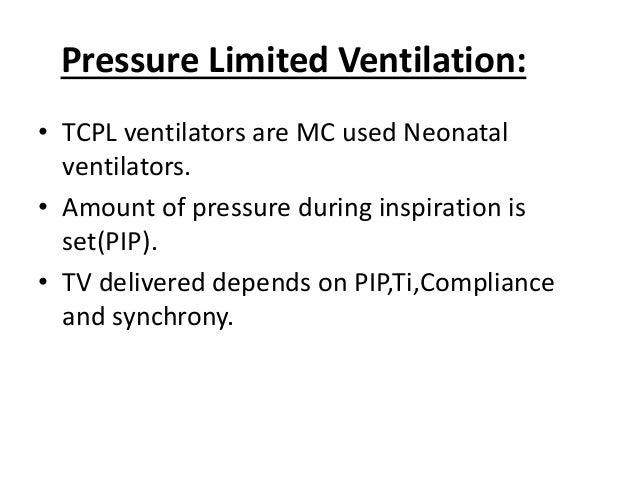 Pressure control Waveform: