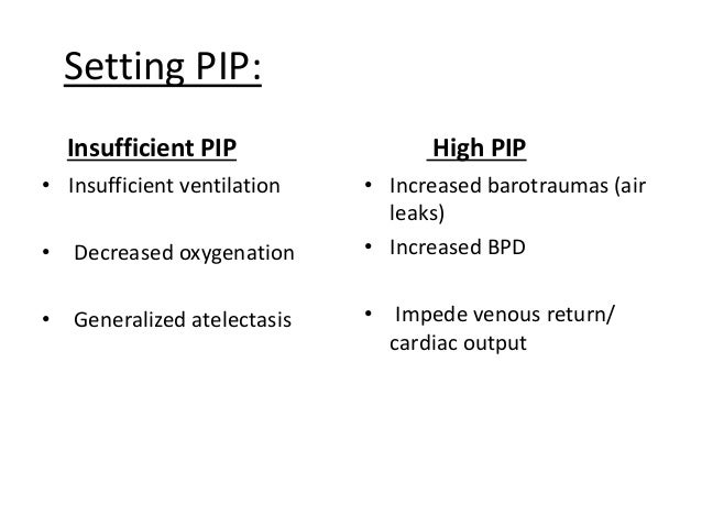 Setting PEEP: • Adequate PEEP improves FRC & V/Q mismatch • PEEP levels between 3 – 6 improve oxygenation & well tolerated