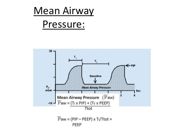 How to Increase MAP • 1. Increase inspiratory flow rate • 2. Increase peak inspiratory pressure • 3. Increase inspiratory ...