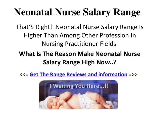 Neonatal Nurse Salary Range