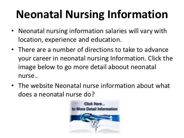 Neonatal Nursing Information Slide 2