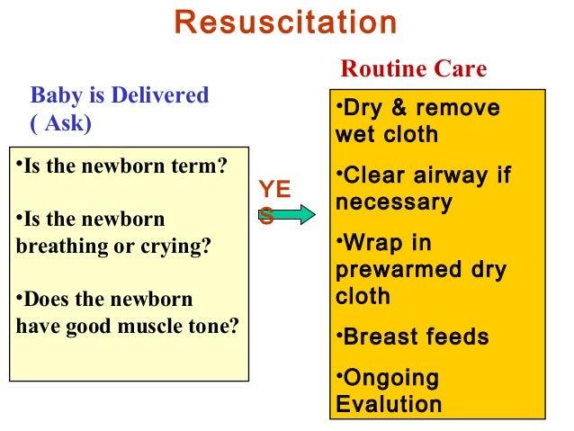 Neonatal Resuscitation 2012 Ag