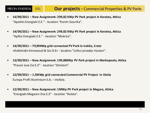 """• 14/09/2011 – New Assignment: 299,82 KWp PV Park project in Keratea, Attica """"Apatitis Energiaki E.E."""" - location """"Kontri ..."""