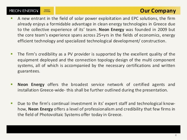 Our Company  A new entrant in the field of solar power exploitation and EPC solutions, the firm already enjoys a formidab...