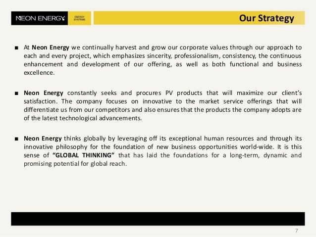 ■ At Neon Energy we continually harvest and grow our corporate values through our approach to each and every project, whic...