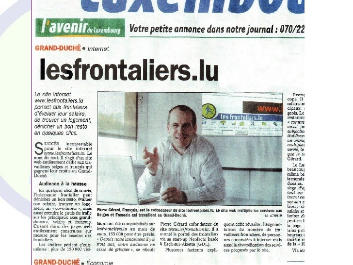 2007, un nouvel élan ●     Après 6 ans au Technoport, aménagement dans     de nouveaux bureaux à Esch-sur-Alzette à la fin...