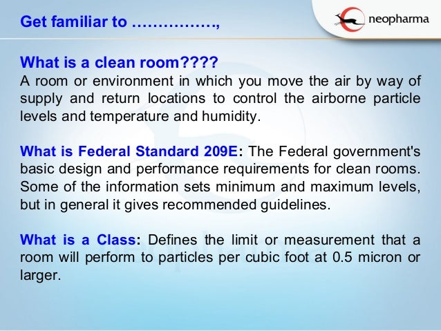 Environmental monitoring program for clean room