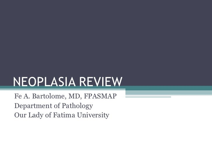 Neoplasia review