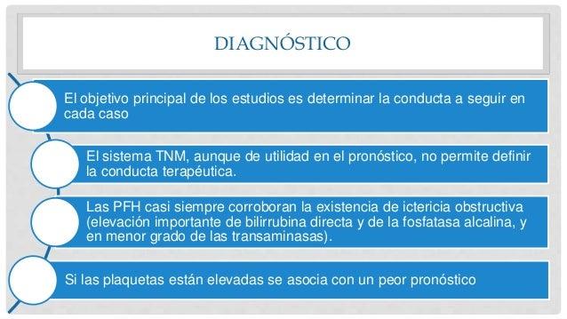 DIAGNÓSTICO El objetivo principal de los estudios es determinar la conducta a seguir en cada caso El sistema TNM, aunque d...