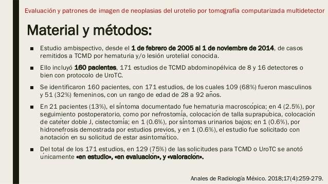 Material y métodos: ■ Estudio ambispectivo, desde el 1 de febrero de 2005 al 1 de noviembre de 2014, de casos remitidos a ...