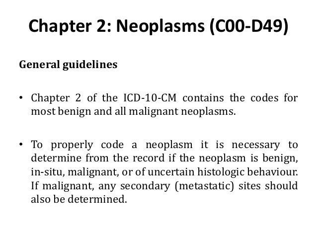 icd 10 code for left kidney tumor