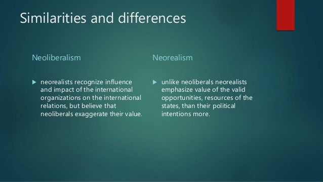 neo liberalism and the resource curse of The essay will then argue that the ideological hegemony that neoliberalism  enjoys encourages theories such as resource curse theory in order to highlight.